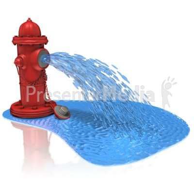 Hose And Hydrant Clipart.