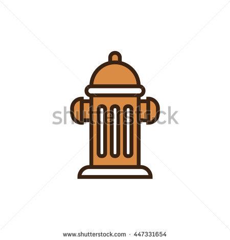 Cartoon Water Hydrant Stock Vector 110110535.