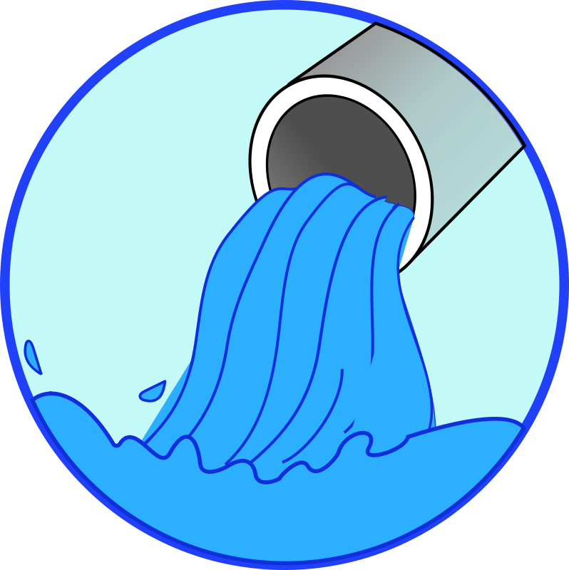 Free Clipart: Don\'t waste water.