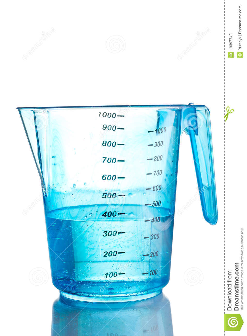 water in measuring cup clipart clipground