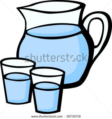 Water Jar Clipart.