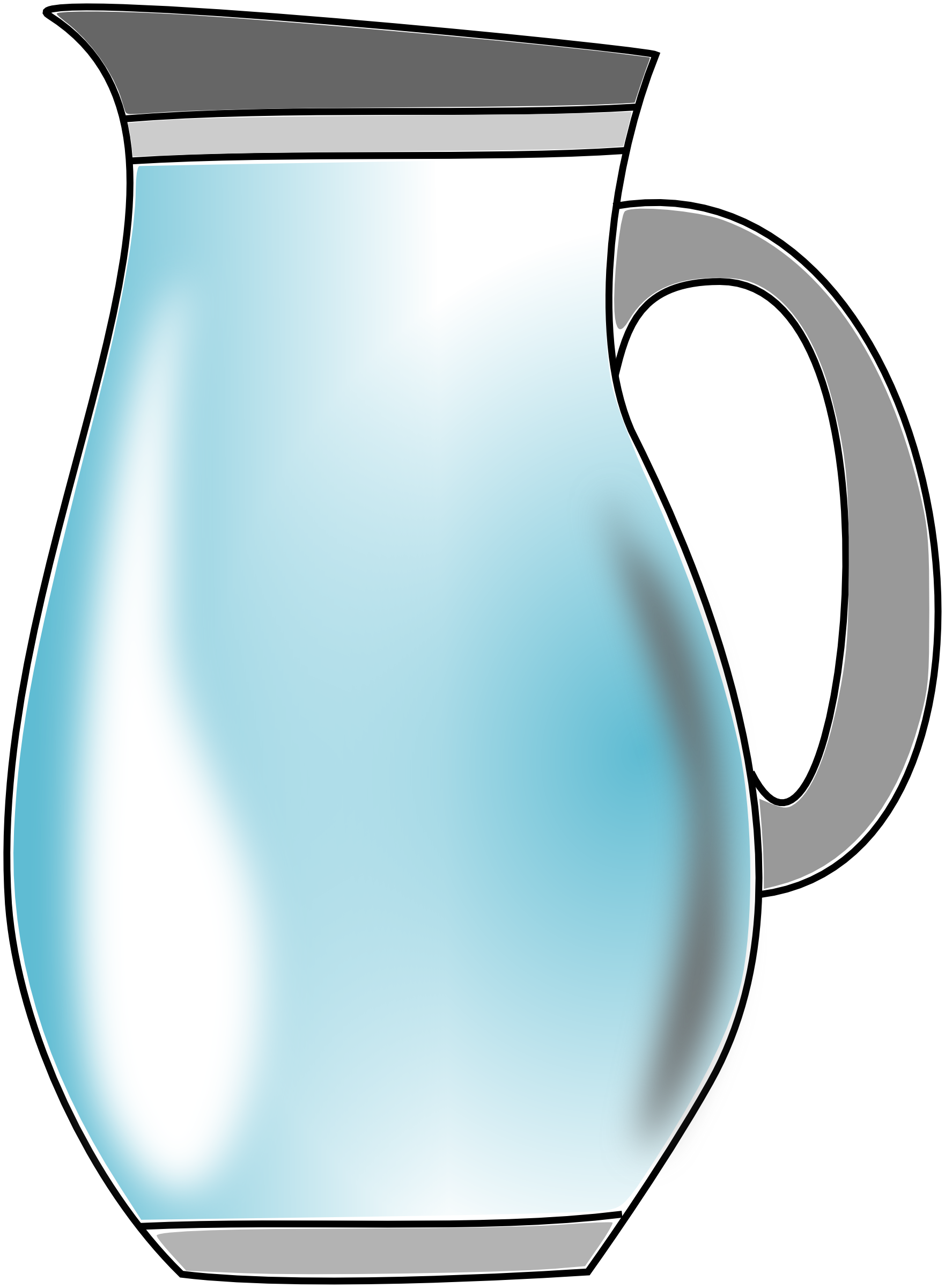 Pitcher Of Water Clipart.