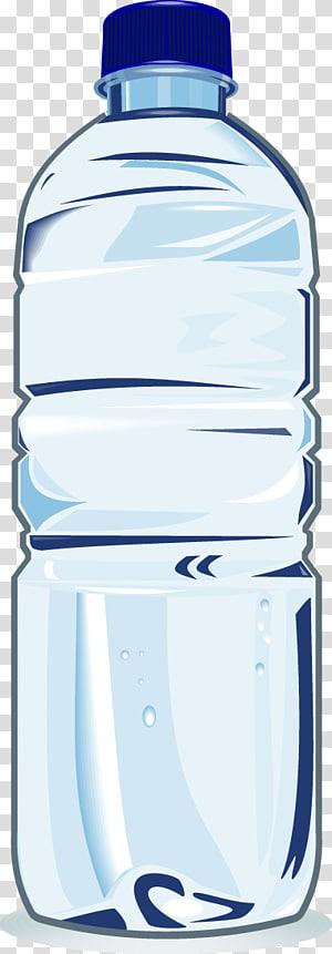 Plastic bottle Drinking water Bottled water, bucket.