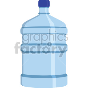water jug flat icons . Royalty.