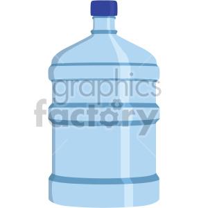 water jug flat icons . Royalty.