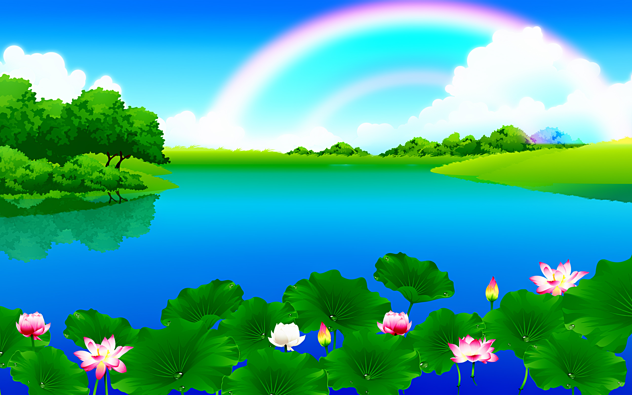 Water landscape clipart - Clipground