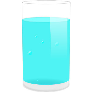 Glass Of Water clip art.