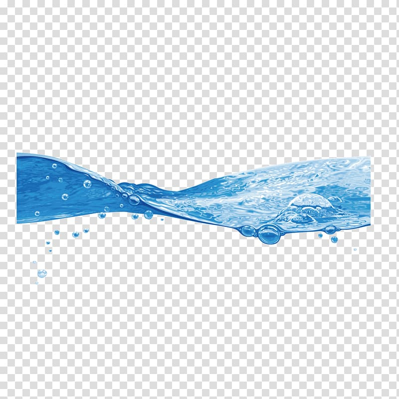 Water graphic poster, sea water sea level tide transparent.