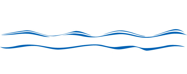 Line water waves border clipart free images.