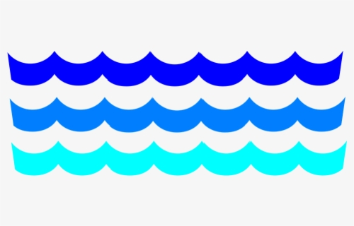 Free Wave Clip Art with No Background.