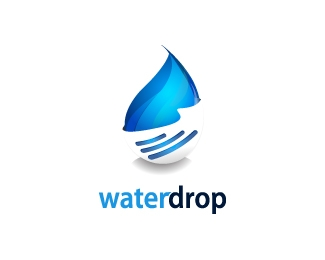 Water Drop Designed by Borni.