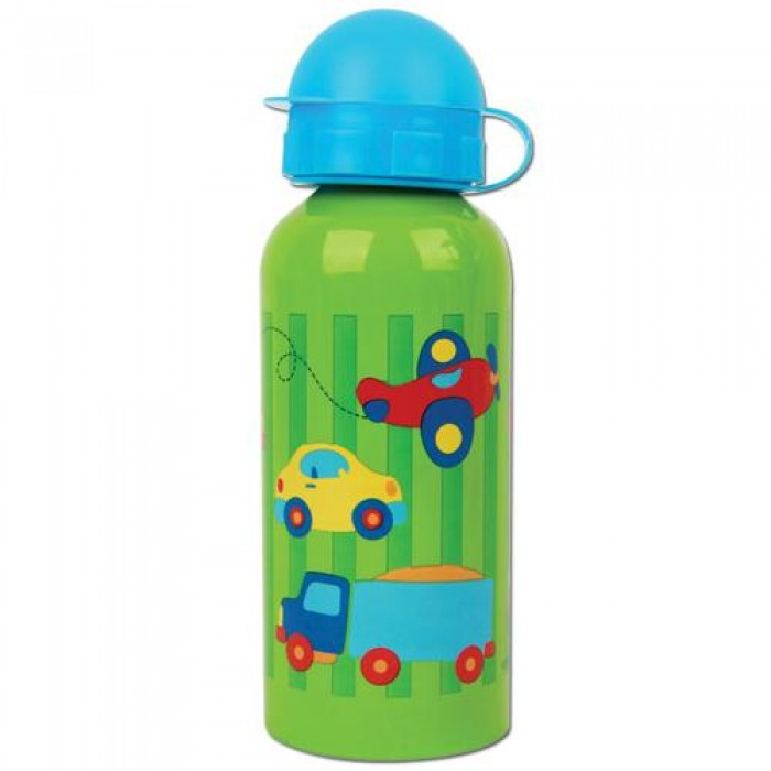 Comparing mass in a water bottle clipart.