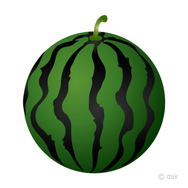Watermelon Clipart Free Picture|Illustoon.