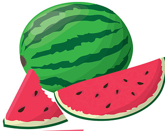 Watermelon free to use clip art.