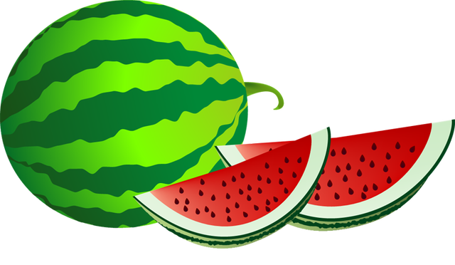 Watermelon clip art.