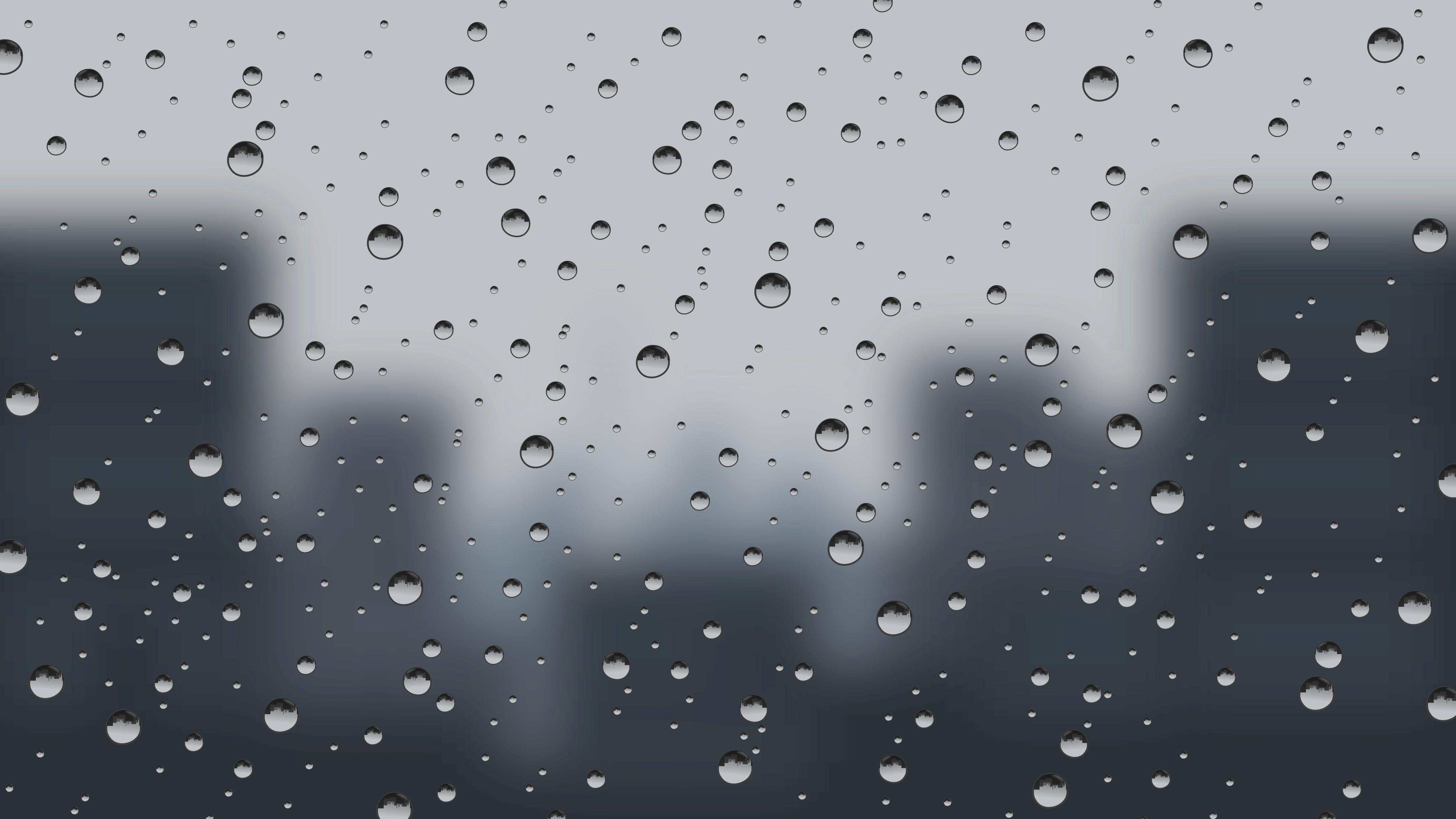 Raining Window Clipart.