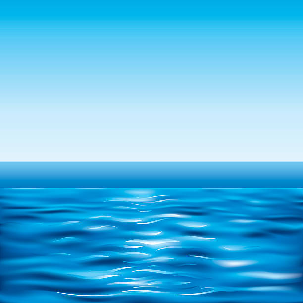Water Surface Horizon Clip Art, Vector Images & Illustrations.