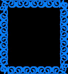 Blue Border Rj1 Clip Art at Clker.com.
