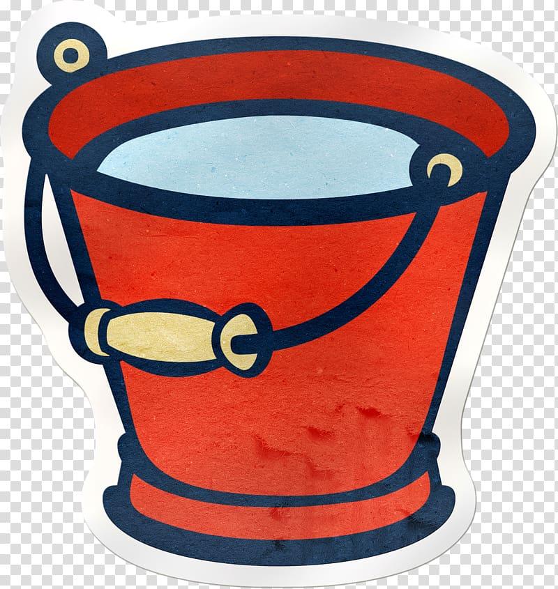 Bucket Watering Cans Garden , bucket transparent background.