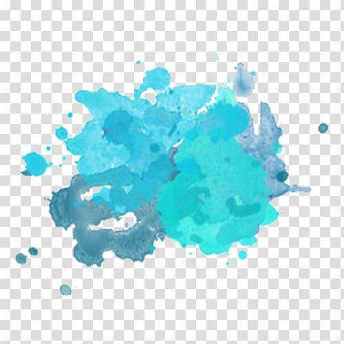 Watercolor painting Brush, watercolor brush transparent.