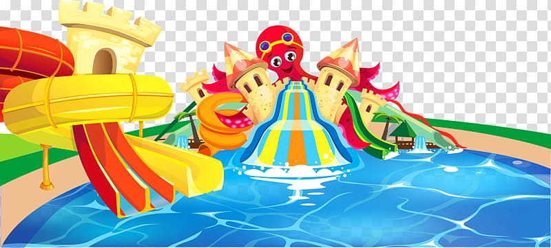 Inflatable Playground slide Swimming pool Water park Water.