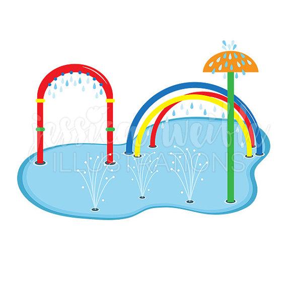 Water Park Clip Art.