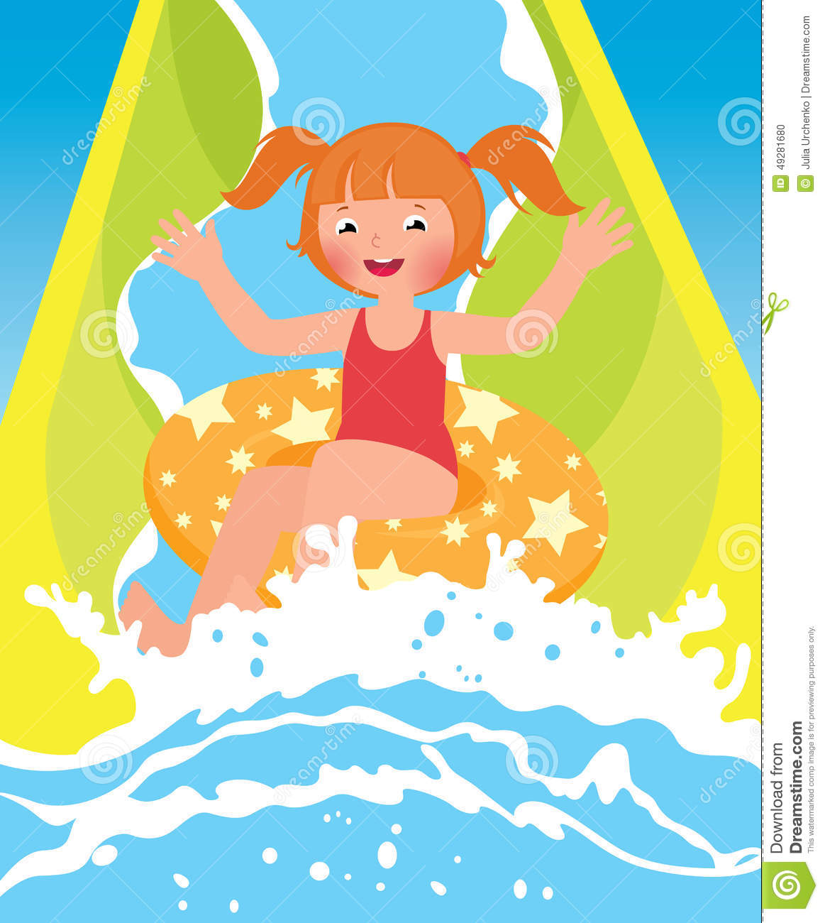 Inflatable Slide Clip Art: Water Park Clipart 20 Free Cliparts