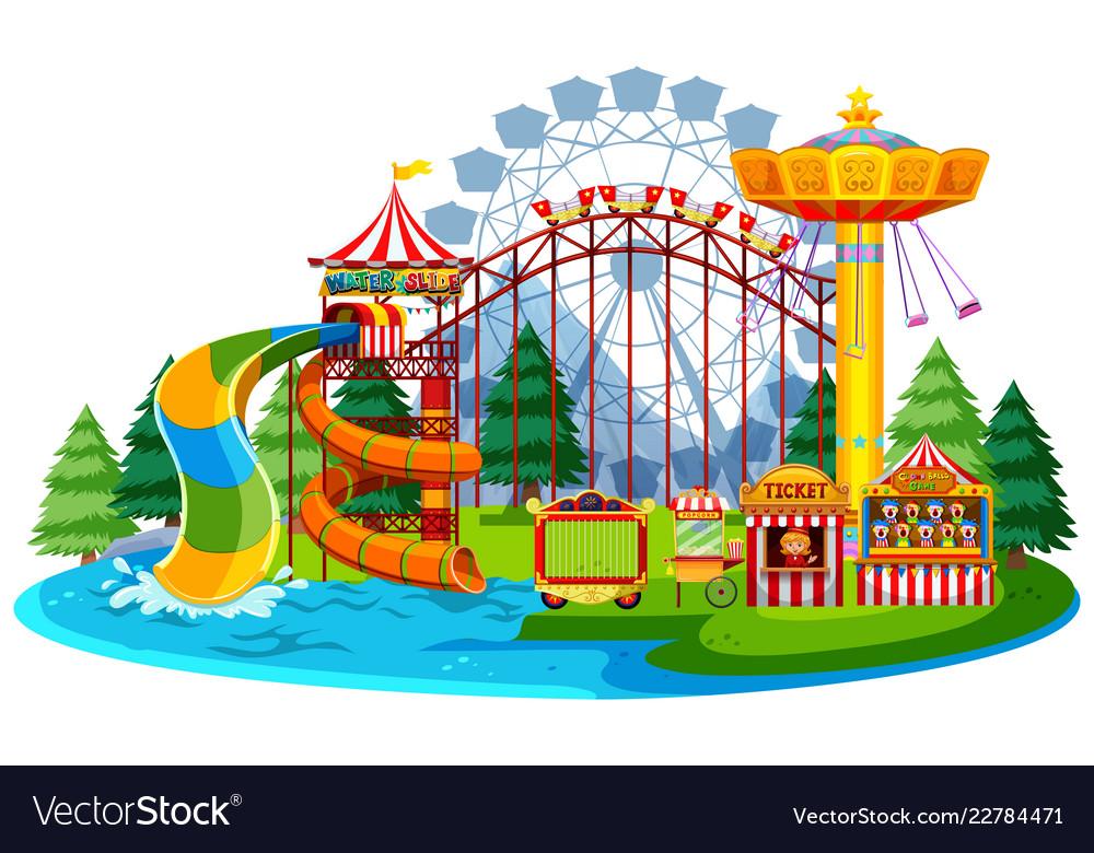 Fun water theme park.