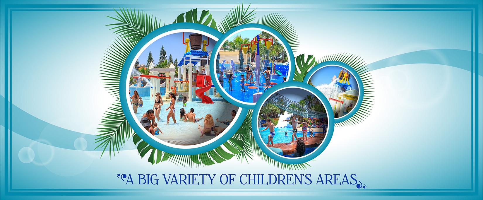 WaterWorld Themed Waterpark Ayia Napa.