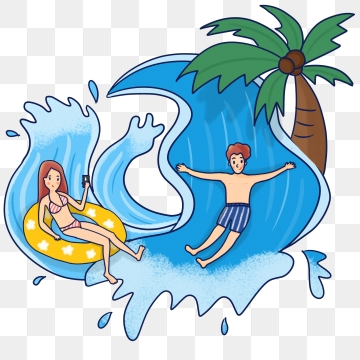Water Park PNG Images.