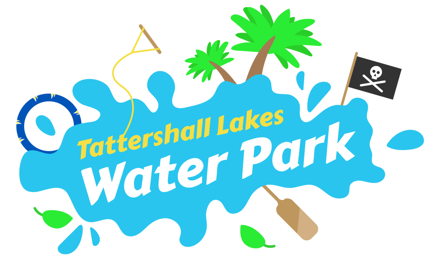 Tattershall Lakes Water Park, Cable and Aqua Park, Lincolnshire.