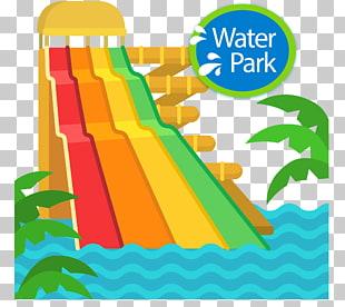 Water park , hand.