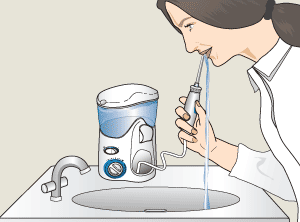 How to Use a Waterpik Water Flosser or Dental Floss.