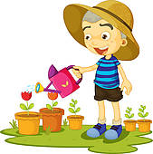 Watering plants Clipart Illustrations. 24,677 watering plants clip.