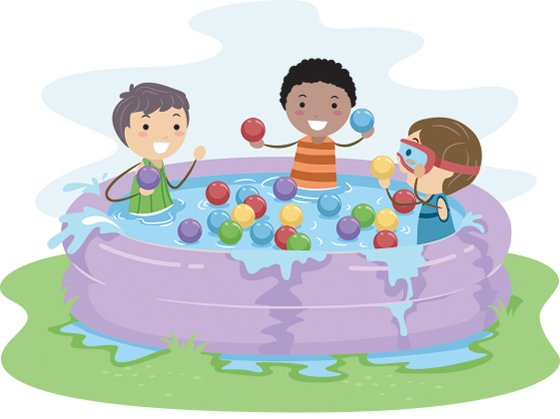 46 Water Play free clipart.