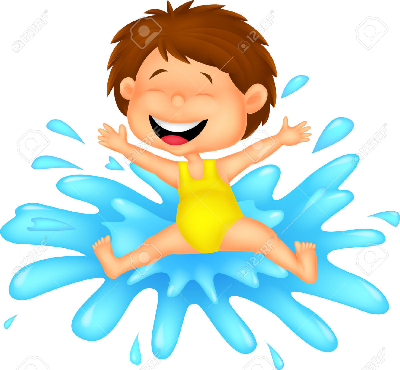 Water Play Clipart Images.