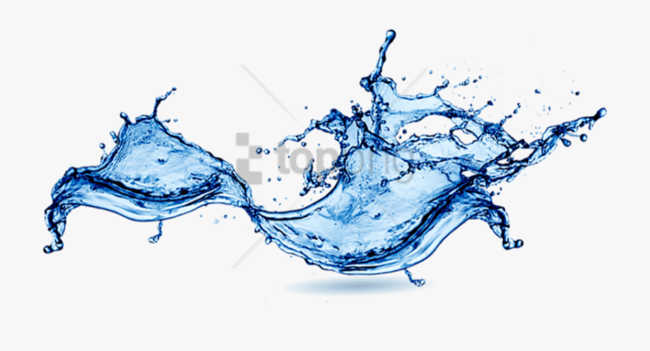 Water Splash Transparent Background Png.