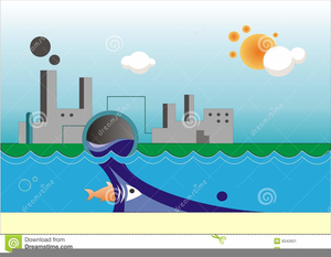 Clipart Of Water Pollution.
