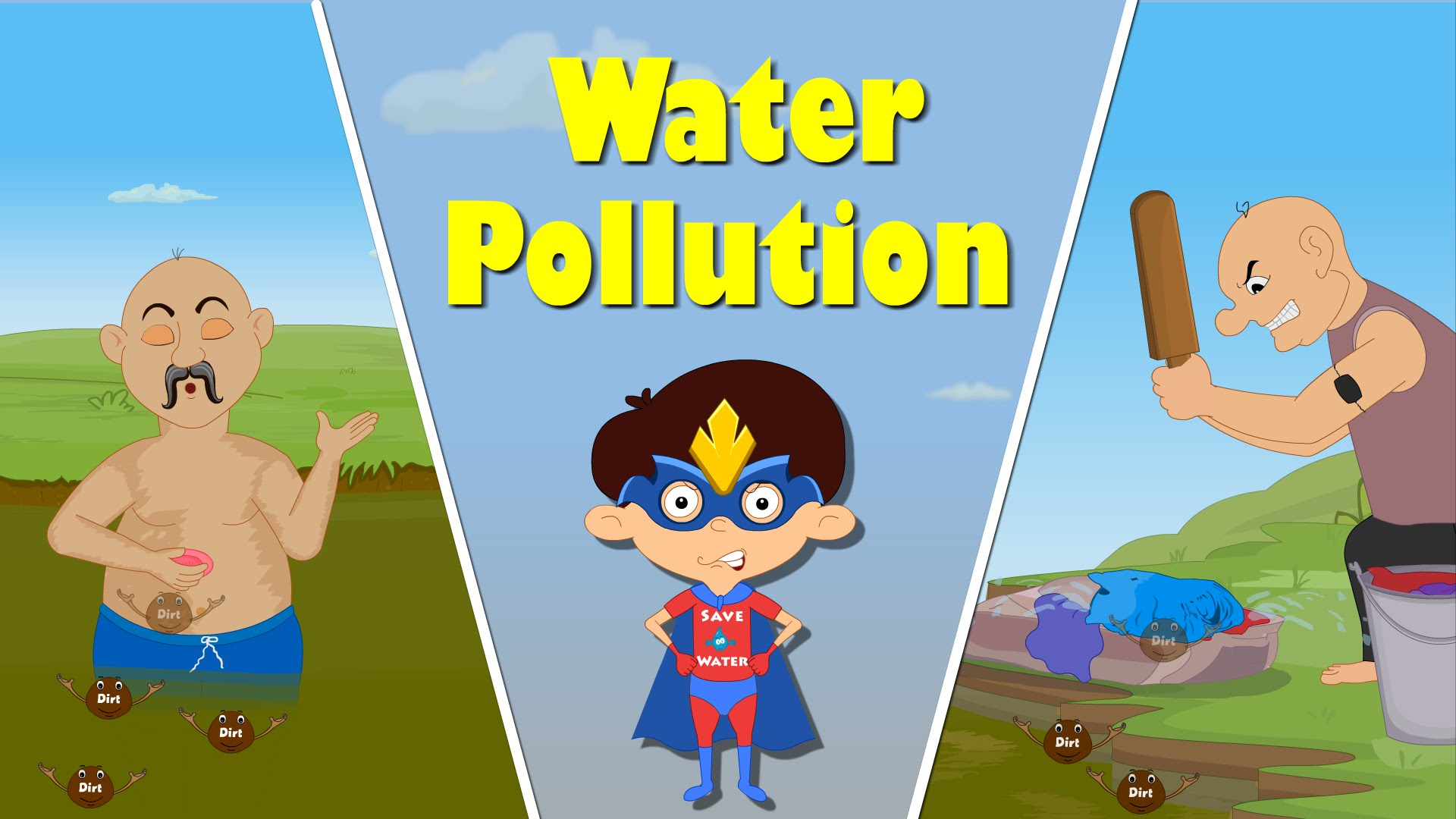 Water Pollution for Kids.