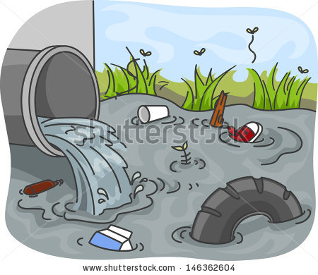 Water Pollution Stock Images, Royalty.