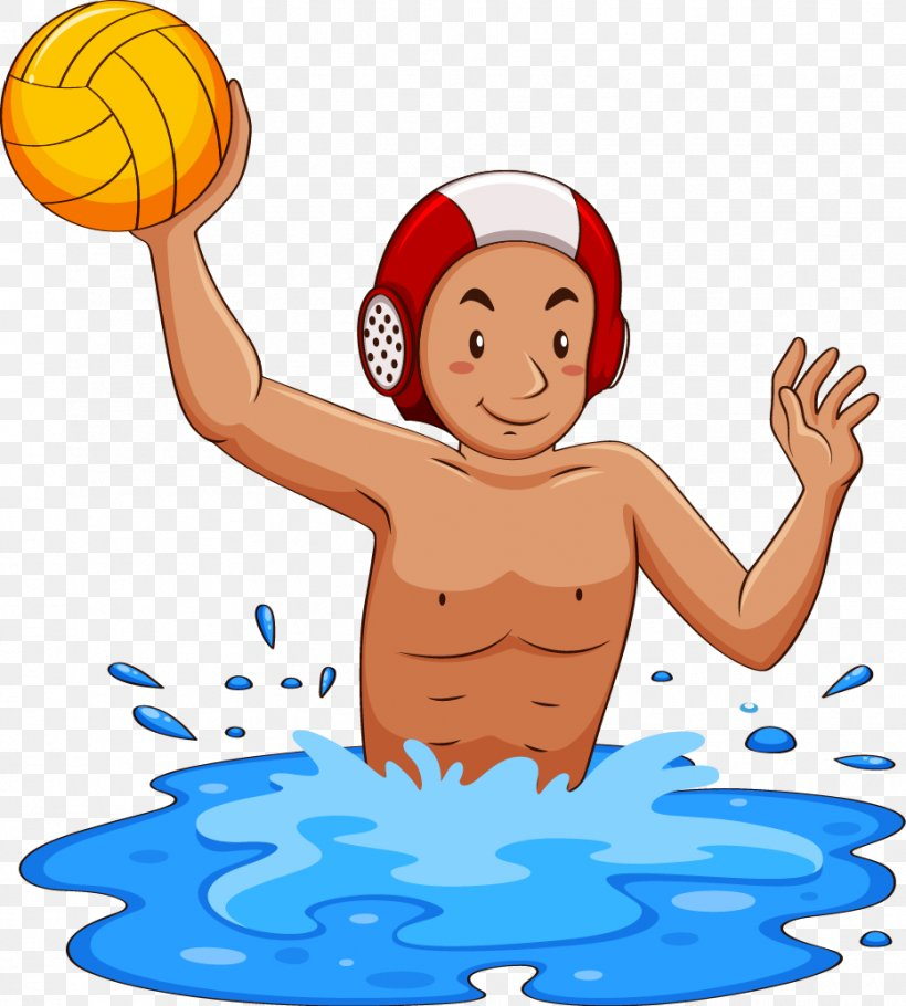 Water Polo Ball Clip Art, PNG, 932x1035px, Water Polo, Area.