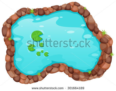 Pond Stock Images, Royalty.