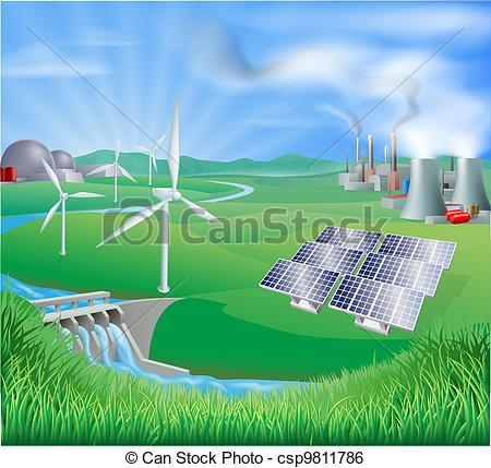 Water power clipart #1