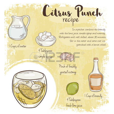 616 Punch Drink Stock Vector Illustration And Royalty Free Punch.