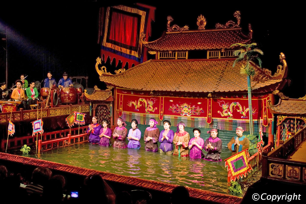 Water Puppet Shows in Ho Chi Minh.