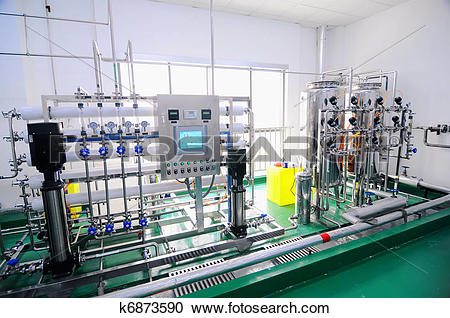 Stock Photography of Water purification equipment k6873590.