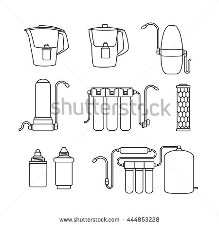Water Filter Stock Images, Royalty.