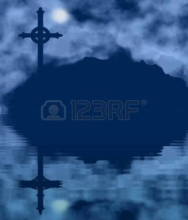 Water reflection clipart.