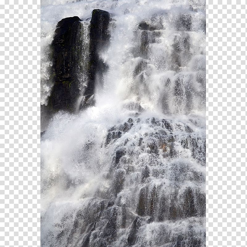 Water resources Waterfall, water transparent background PNG.