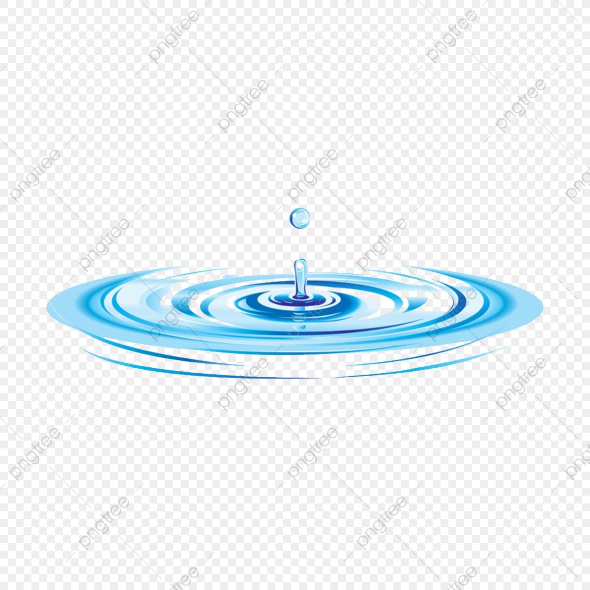 Water Ripple, Blue Water Ripple, Transparent Water Ripple.